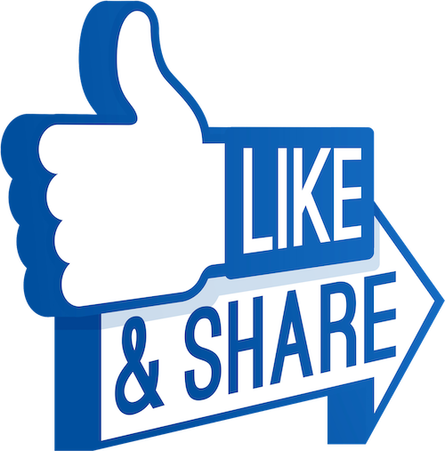 FB share like icon