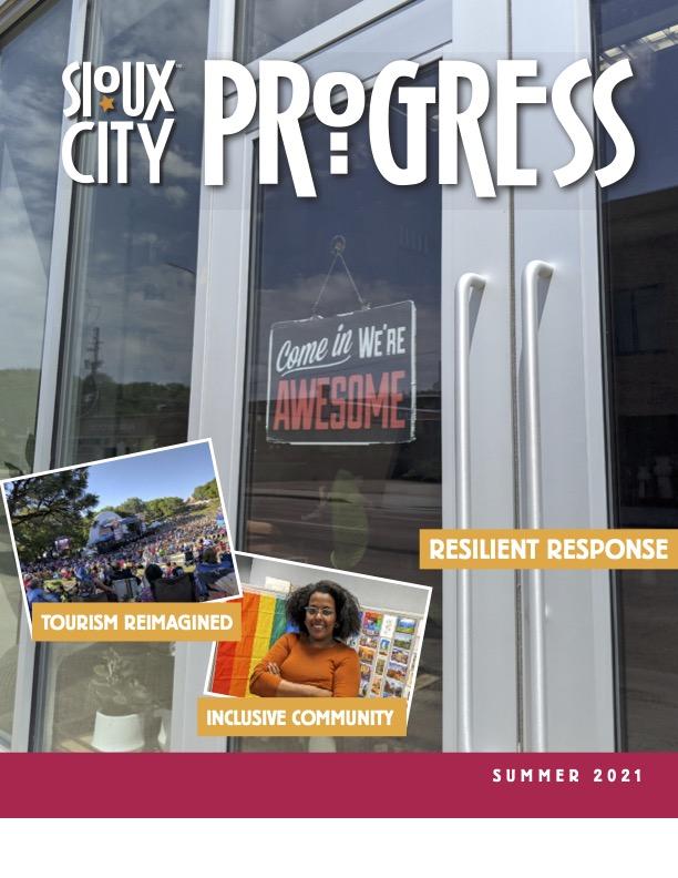 Sioux City Progress Cover - Summer 2021
