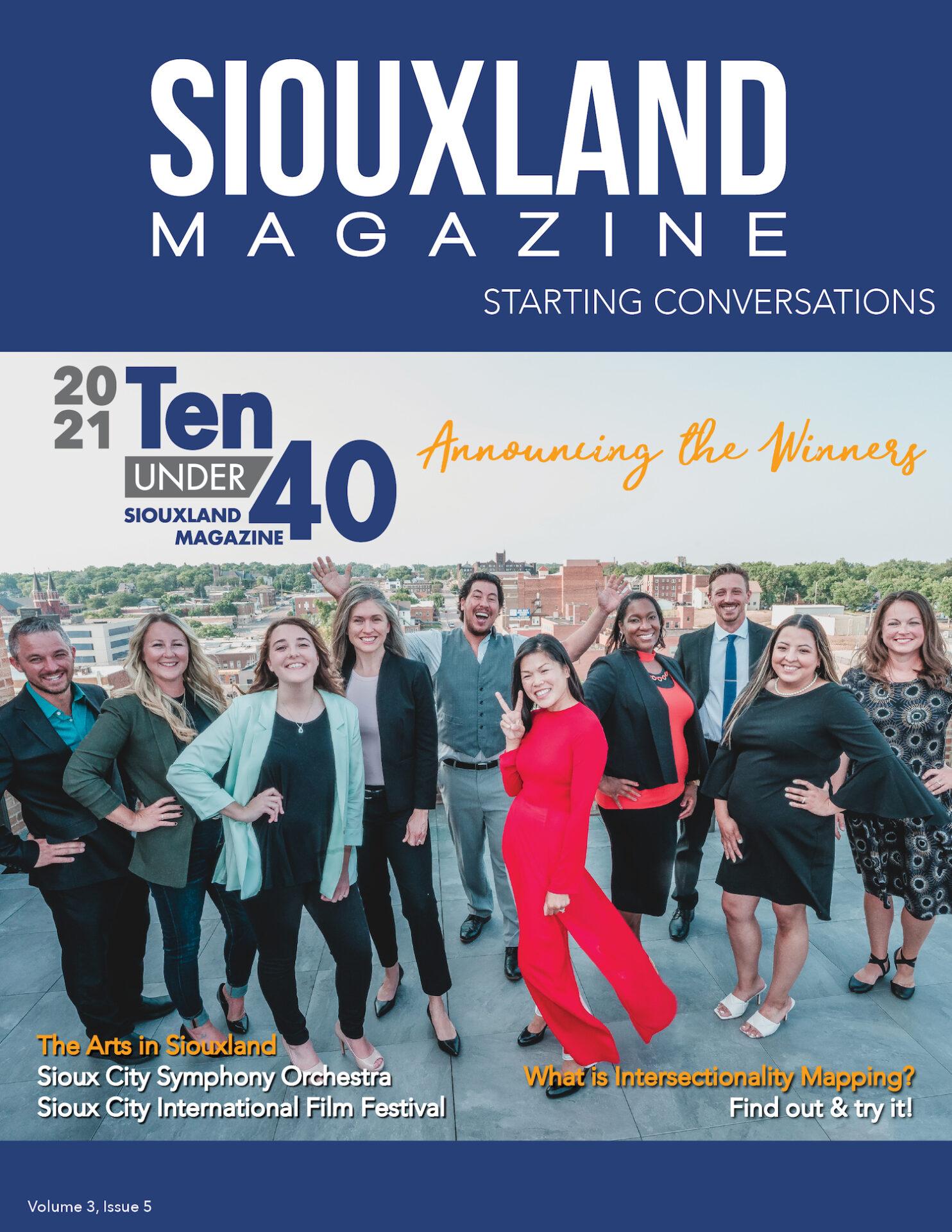 Siouxland Magazine September 2021 cover image